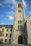 Lange Torens in Hemelse Hemel die zij hebben bereikt Stock Fotografie