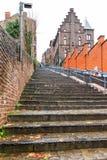 Lange treden in Luik Stock Afbeeldingen