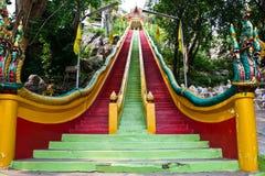 Lange Treppen Statue in Thailand Lizenzfreie Stockbilder