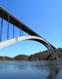 Lange Tsjechische brug Royalty-vrije Stock Fotografie