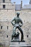 Lange Wapper statue of Steen Castle, Antwerp Stock Image