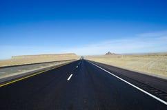 Lange weg Utah Stock Afbeeldingen