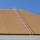 Witte ladder stock afbeelding