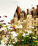 Langeais castle -Loire valley Royalty Free Stock Photography