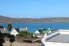 Langebaan lagune, Westelijke Kaap, Zuid-Afrika Stock Foto's