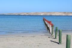 Langebaan lagune, Westelijke Kaap, Zuid-Afrika Royalty-vrije Stock Foto