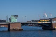 Langebro, Copenhague, Danemark photo stock