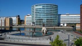 Langelinie, Copenhaga fotografia de stock