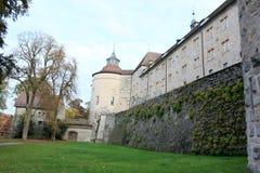 Langenburg城堡 库存照片