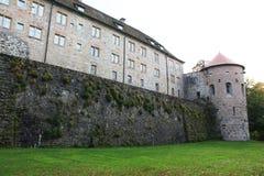 Langenburg城堡 免版税库存照片