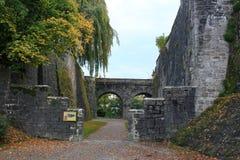 Langenburg城堡 库存图片