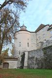 Langenburg Castle. In the Langenburg city, a old building from the old continent Stock Image