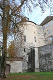Langenburg Castle. In the Langenburg city, a old building from the old continent Stock Photo