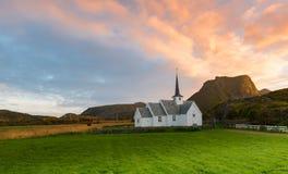 Langenes ChurchLangenes kirke Royalty Free Stock Photos