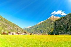 Langenfeld Village, Austria Stock Images