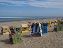 Langeoog beach Stock Image