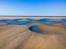 Langeoog Beach Structure Stock Image