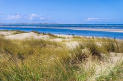 Langeoog Dune. Island in East Frisia Stock Photography