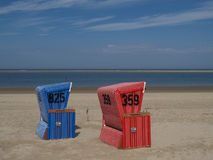 Langeoog plaża fotografia royalty free