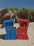 Langeoog plaża obraz stock