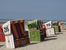 Langeoog strand Royaltyfri Bild