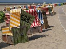 Langeoog strand Royaltyfri Foto