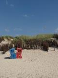 Langeoog strand Arkivbild