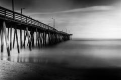 Langer Belichtungs-Pier Stockbilder