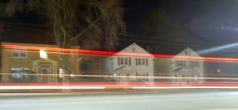 Langer Belichtungs-Verkehr Lizenzfreie Stockbilder