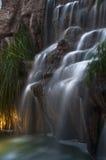 Langer Berührungswasserfall Stockbilder