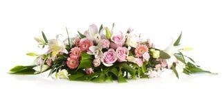 Langer Blumenstrauß für Feiertagsbeifall Lizenzfreie Stockfotos