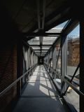 Langer Korridor Stockfotografie