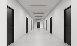 endloser hotel flur stockfotos bild 14398963. Black Bedroom Furniture Sets. Home Design Ideas