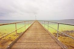 Langer Pier Stockfoto