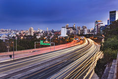 Langer Seitensonnenuntergang Sydneyu Cahill Lizenzfreie Stockbilder