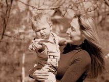 Langerwartetes Baby Lizenzfreie Stockfotos