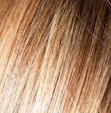 Langes blondes Haar als Hintergrund Lizenzfreie Stockfotos
