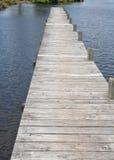 Langes Dock Lizenzfreie Stockfotos