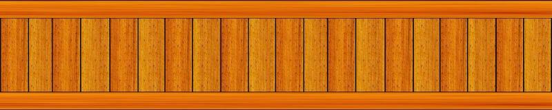 Langes Gremiumspanorama sprenkelte mit hellen Farbvertikalenbrettern Stockbild