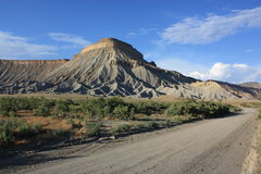 Langes Horn-MESA, Nevada Stockfotos