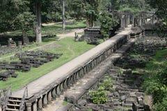 Langes Portal in Angkor Lizenzfreie Stockfotografie