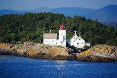 Langesund lighthouse, Norway Stock Photos