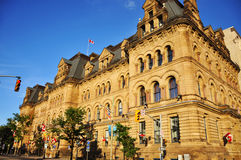 Langevin Block, Ottawa Royalty Free Stock Photography