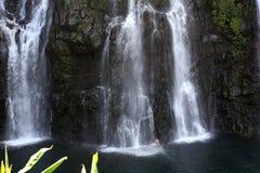 Langevin falls, La Reunion island, Indian Oean Stock Photos
