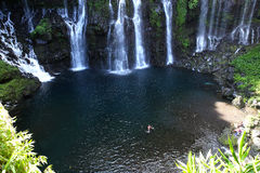 Langevin tombe, La Reunion Island, Indien Oean Image stock
