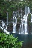 Langevin Wasserfall bei Reunion Island Stockbilder