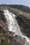 Langfossen waterfall Royalty Free Stock Photos