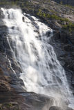 Langfossen waterfall Stock Photos