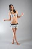 Langhaariges Mädchen Stockfoto
