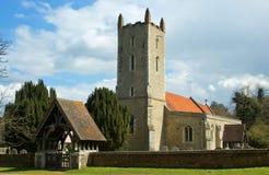 Langham Church. An english countryside church in the springtime Stock Photography